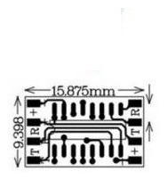 Micro Módulo Rs232 Serial Ttl Max 232 3232 - H2
