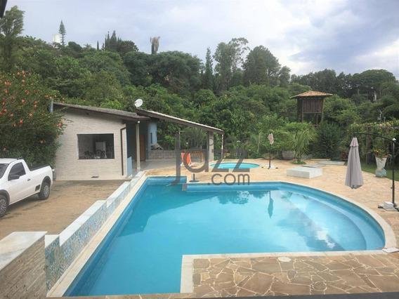 Chácara Com 4 Dormitórios À Venda, 1160 M² Por R$ 1.350.000 - Vale Verde - Valinhos/sp - Ch0080