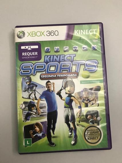 Jogoxbox 360 Kinect Sports Segundo Temporada Usado Original