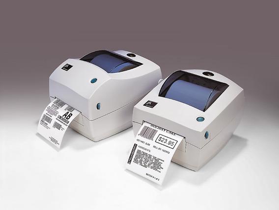 Impressora Térmica Códigos De Barras Zebra Tlp 2844