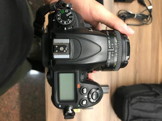 Câmera Nikon D7000 + Lente 50mm 1.8 + Bag + Cartão 32gb