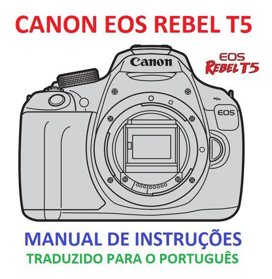 Eos 600d Em Português Pdf Manual Canon Rebel T3i - Câmeras e