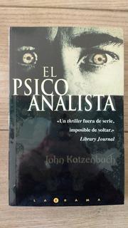 El Psicoanalista - John Katzemback - Libro Físico