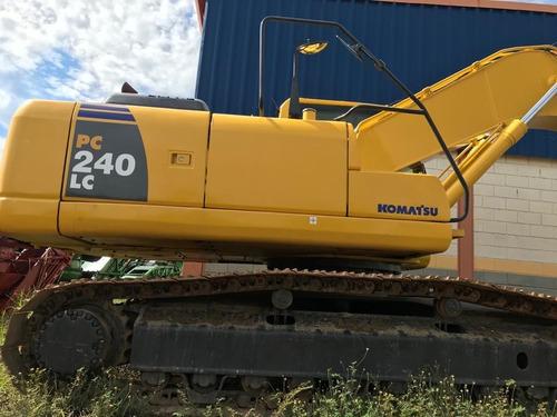 Escavadeira Hidráulica Pc 240 Ano 2013