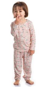 9 Pijamas Infantil Feminino Roupa Dormir Bebe Inverno Menino