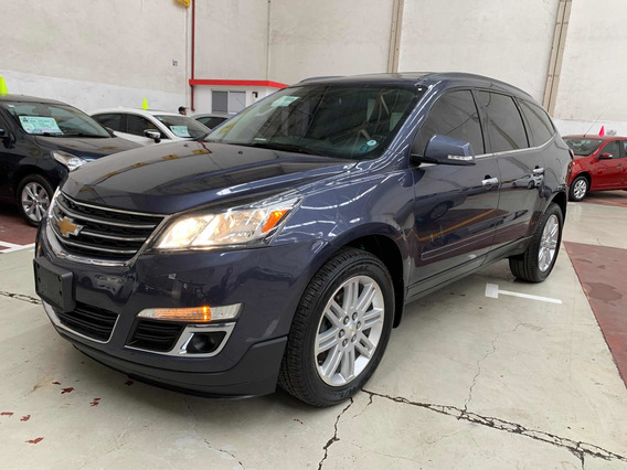 Chevrolet Traverse Lt Piel Qc Dvd 2014