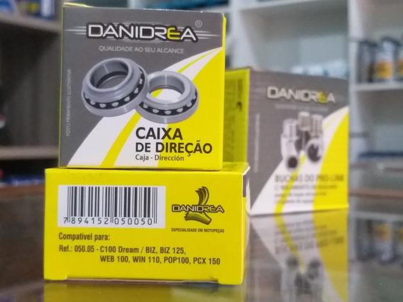 Caixa De Direção Danidrea Biz, C100, Pop100, Web100, Win110