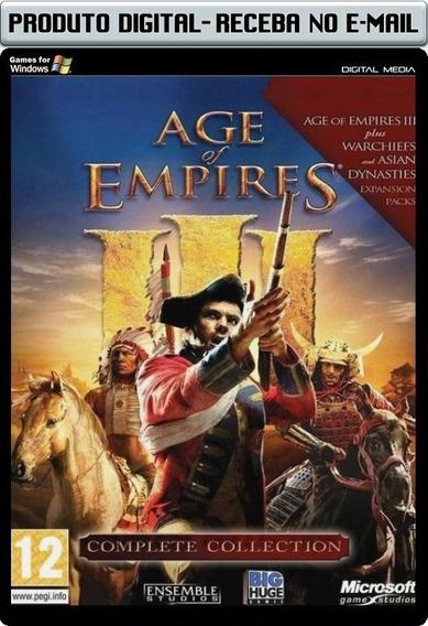 Age Of Empire 3 Complete - Legendado - Pc - Envio Digital