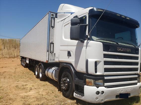 Scania 124 400 Motor 440 6x2 2004 Câmara Fria Gancheira 2008