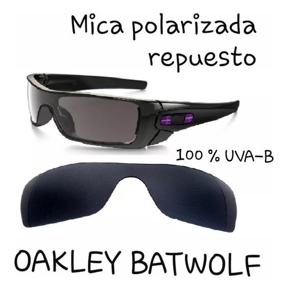 Mica Polarizada Lentes Oakley Batwolf Originales Oo9101