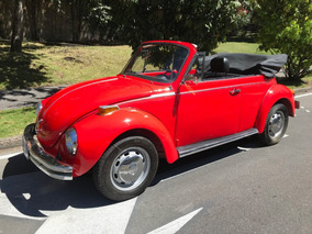 Volkswagen Escarabajo Super Beetle 1977 Original Convertible