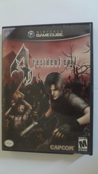 Jogo Resident Evil Four Gamecube - Usado E Original