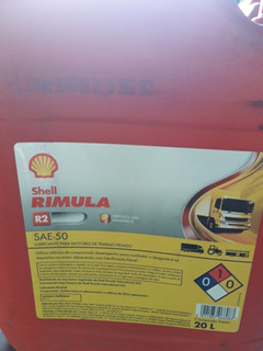 Aceite Diesel 50 Shell Rimula