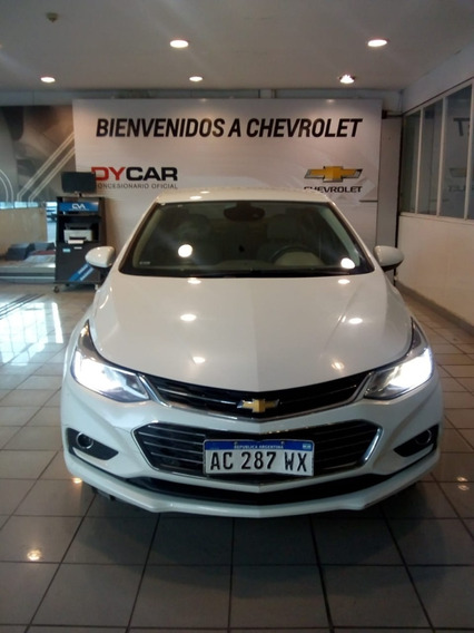 Chevrolet Cruze Ltz At 4p 2018 Blanco