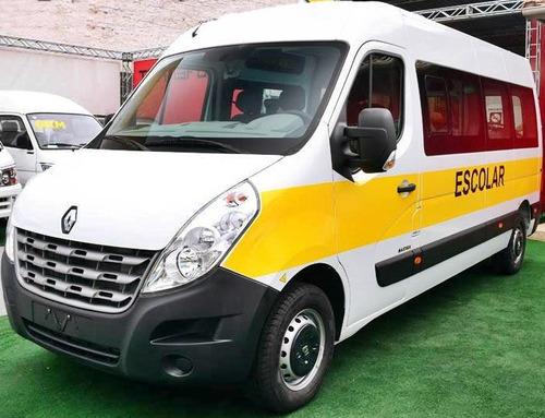 Renault Master L3h2 Vitré 20l Escolar Branca 2019/2020