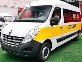 Renault Master L3h2 Vitre 20l Escolar Branca 2019/2020