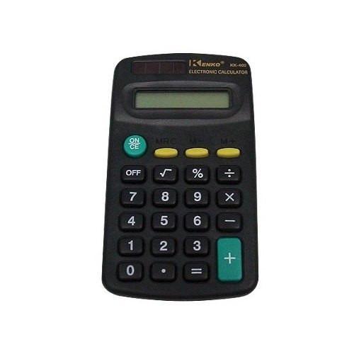 Calculadora Kenko Kk-402 De Bolso 8 Digitos.
