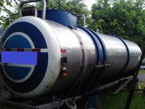 Tanque Cilíndrico Inox De 5.000 L/12.000 L Pipa