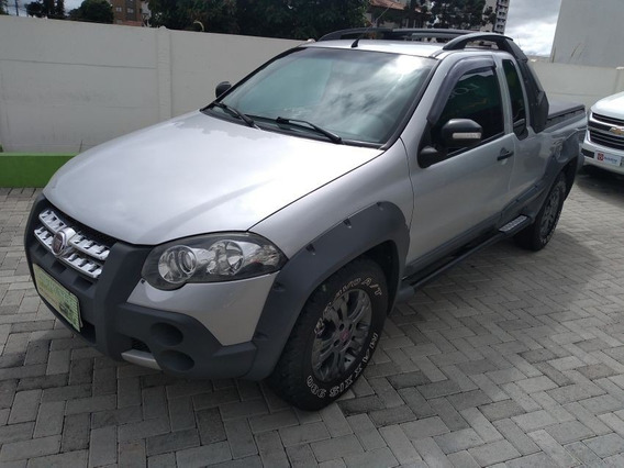 Fiat Strada 1.8 Flex Adventure Locker Completa 2009