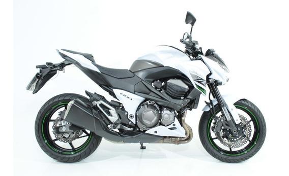 Kawasaki Z 800 2016 Branca
