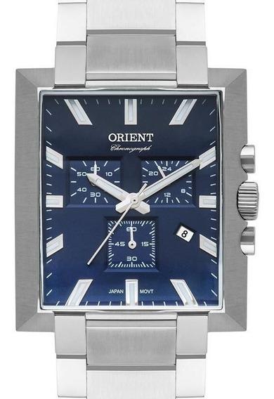 Relógio Orient Masculino Quadrado Crono Gbssc011 D1sx