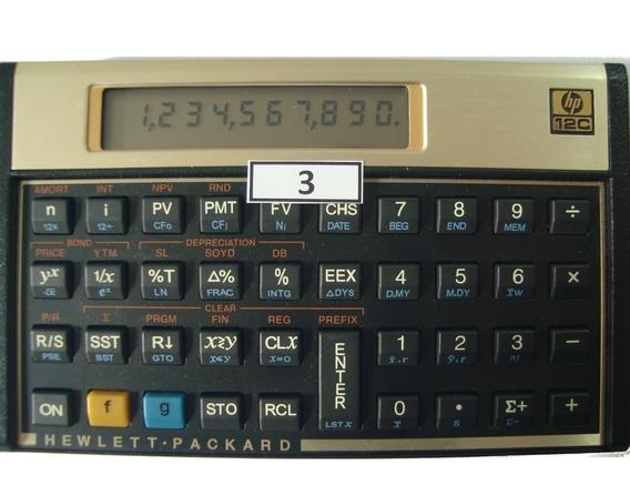 Calculadora Financeira Hp 12c Gold Português Modelo 03