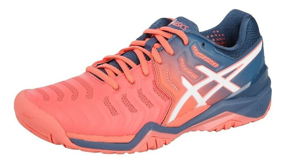 Asics Resolution 7 Clay - Tenis Paddle Mujer