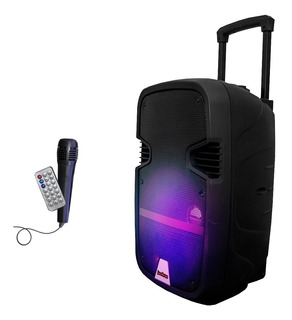 Parlante Bluetooth 2000w Control Remoto + Fm + Usb + Sd
