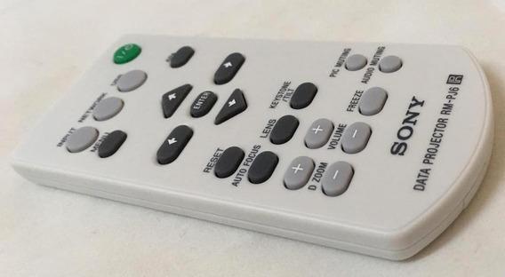 Controle Sony Projetor Original Rm-pj6 148717712 Vlp-we7 Vpl