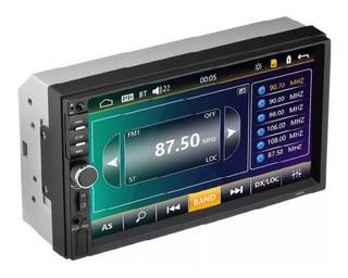 Autoestereo Camara Reversa Touch 7 Bluetooth Mirrorlink