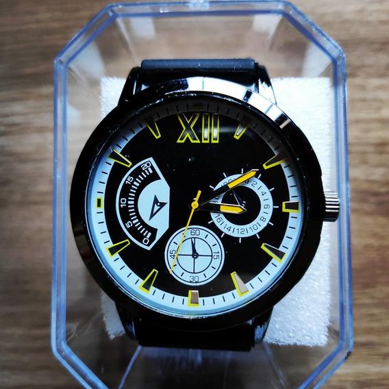Relógio Masculino Beta - Dark Yellow - Pronta Entrega