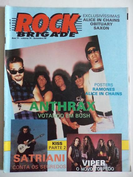 Revista Rock Brigade Ano 11 - Volume 74