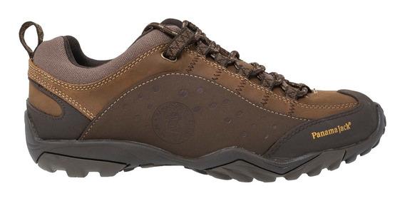 Zapato Hombre Panama Jack Cuero Alpino Perfor. C/cordones