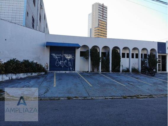 Galpão Para Alugar, 1034 M² Por R$ 12.000/mês - Jacarecanga - Fortaleza/ce - Ga0009