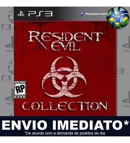 Resident Evil Combo Com 9 Jogos Para Ps3 Promoção