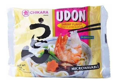 Imagen 1 de 1 de Chikara, Udon Sabor Camarón, 198 G