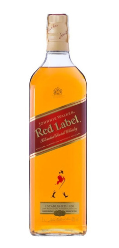 Whisky Escoces Johnnie Walker Red Label 1 Litro