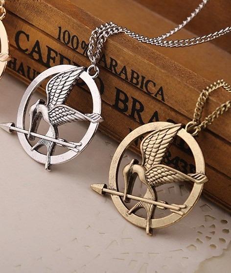 Colar Tordo Jogos Vorazes Hunger Games ( Frete 16 Reais )