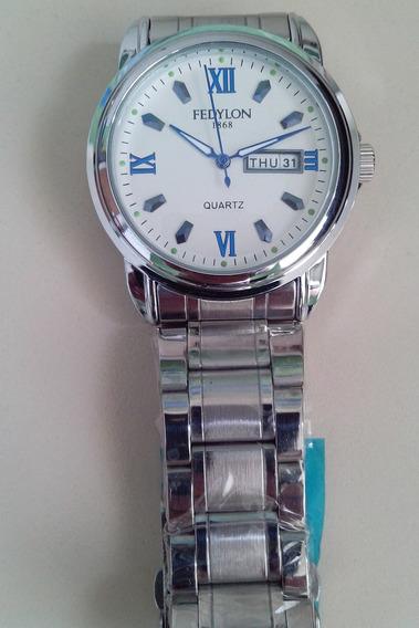 Relógio Fedylon Masculino Clássico