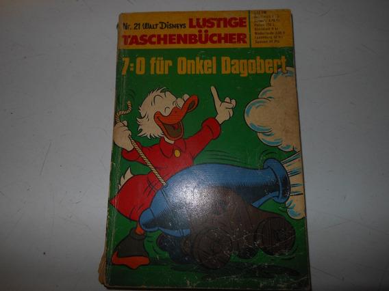 Raro Gibi Hq Almanaque Tio Patinhas Importado Da Alemanha L2