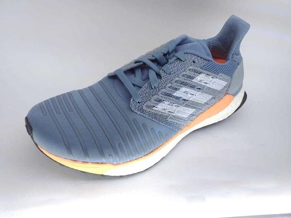 Tenis adidas Solarboost Azul Dama Correr Nuevo Talla 24.5