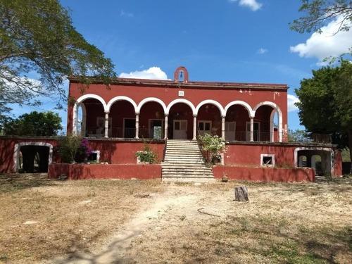 Hacienda Cerca De La Playa De Dzilam Lista Para Habitar O Remodelar