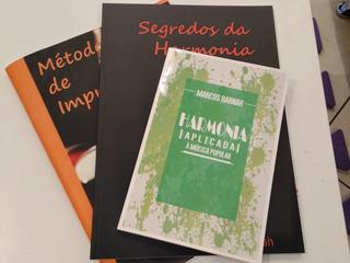 Livros De Música - Kit Com 3