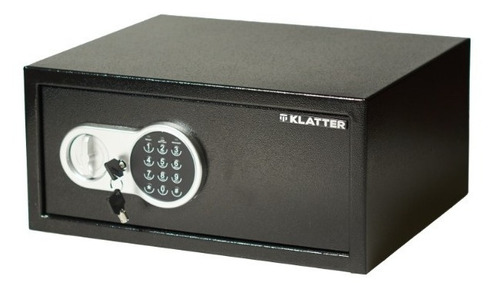 Imagen 1 de 10 de Caja Fuerte Electrónica Para Notebook 22,5 Lts Klatter