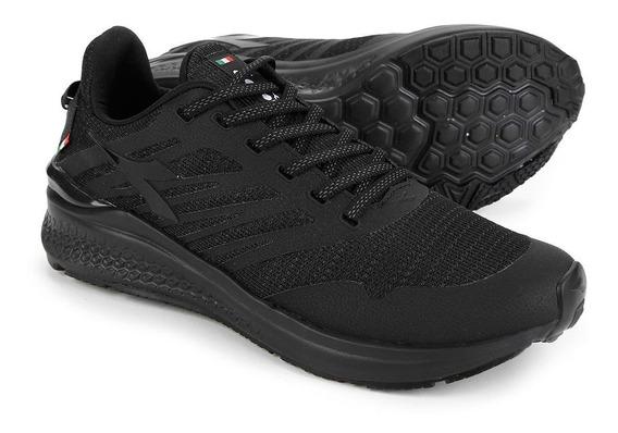 Tenis Diadora Hexa Running Preto All Black
