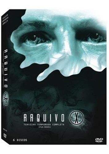 Box Dvd Arquivo X - 3ª Temporada 6 Dvds Novo Frete Grátis
