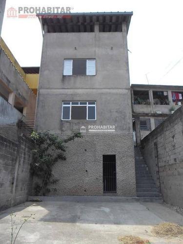 Sobrado À Venda, 80 M² Por R$ 320.000,00 - Jardim Maria Fernandes - São Paulo/sp - So2236