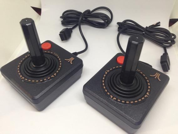 2 Controles Atari - Compativel Com Atari 2600 / Flashback