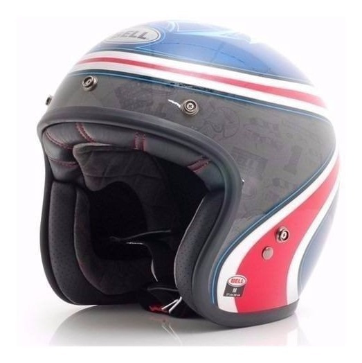 Capacete Bell Custom 500 Airtrix Heritage Harley Davidson