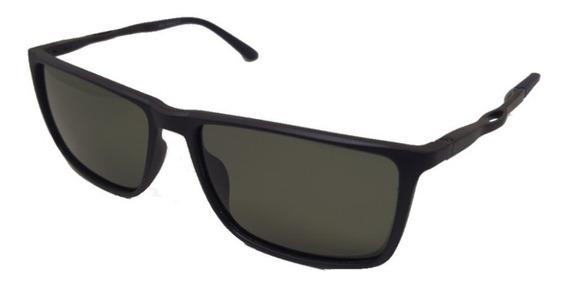 Óculos De Sol Yacht Sport Polarizado Wayfarer Slim Verde Top